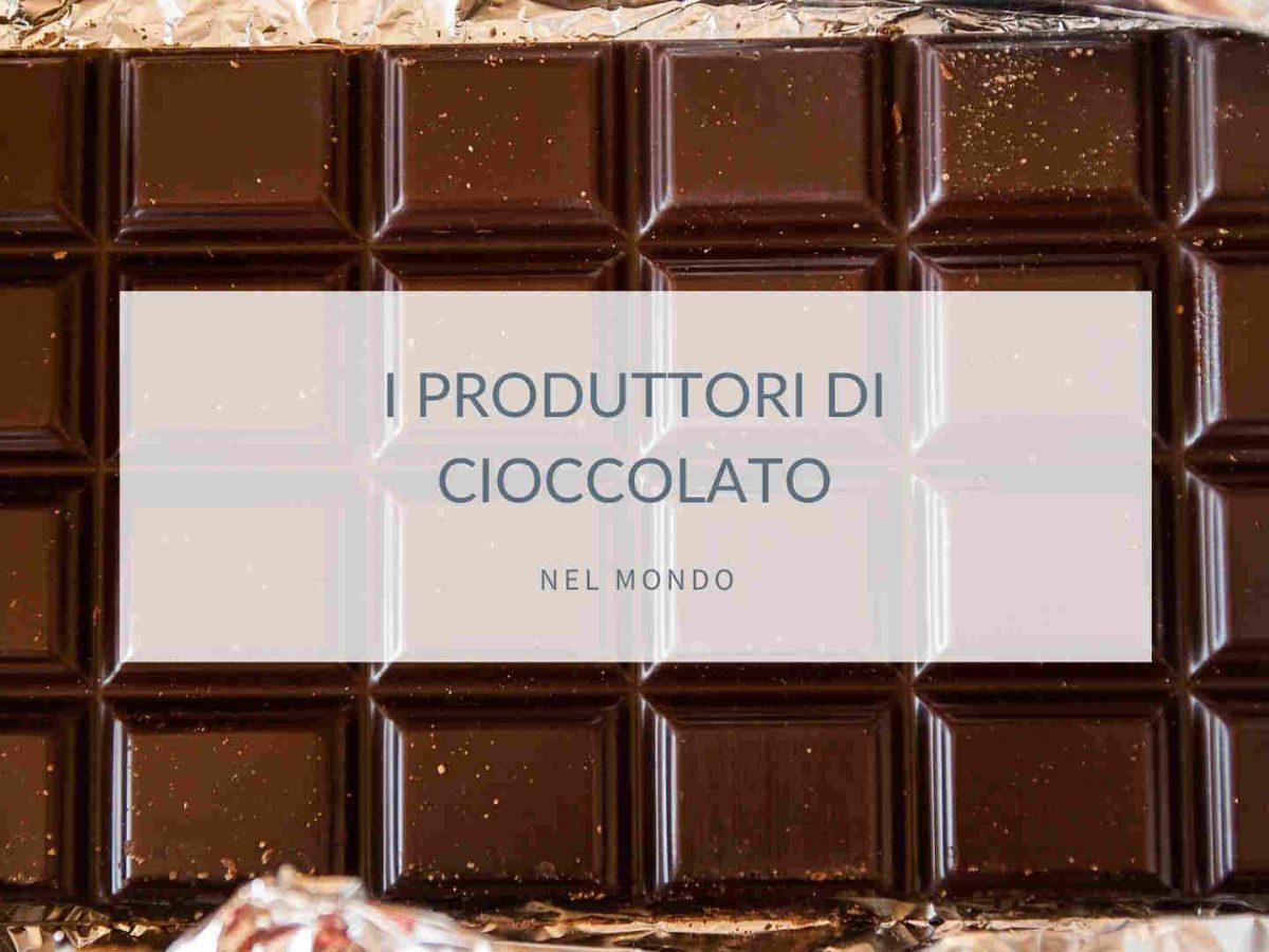 produttori di cioccolato