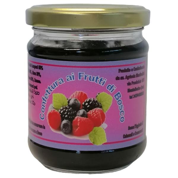confettura ai frutti di bosco