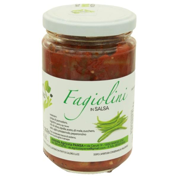 fagiolini in salsa