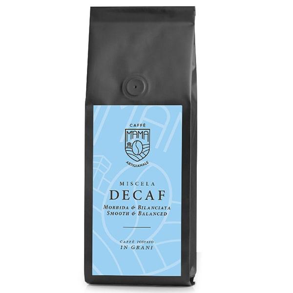 caffè decaf grani