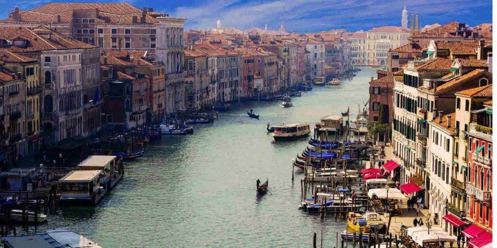 bottega caffè nel mondo Venezia